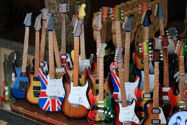 沢山のギター