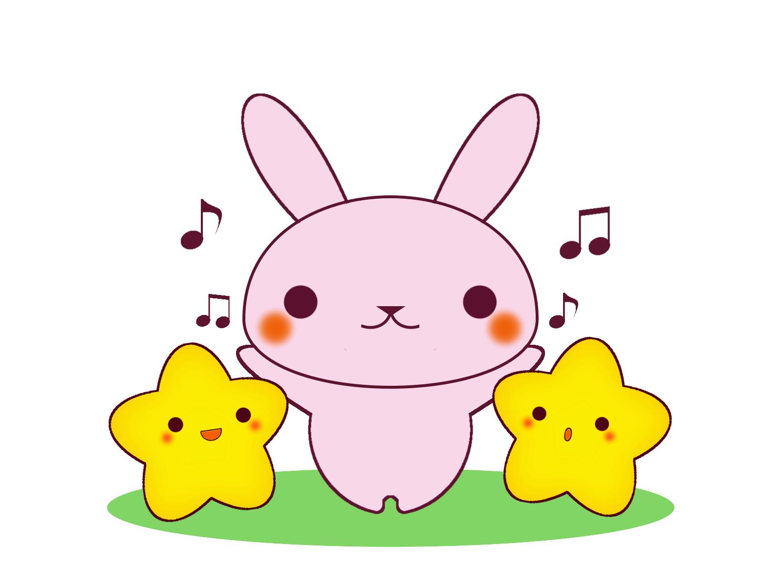 ウサギと星