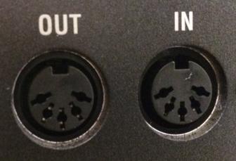MIDI端子