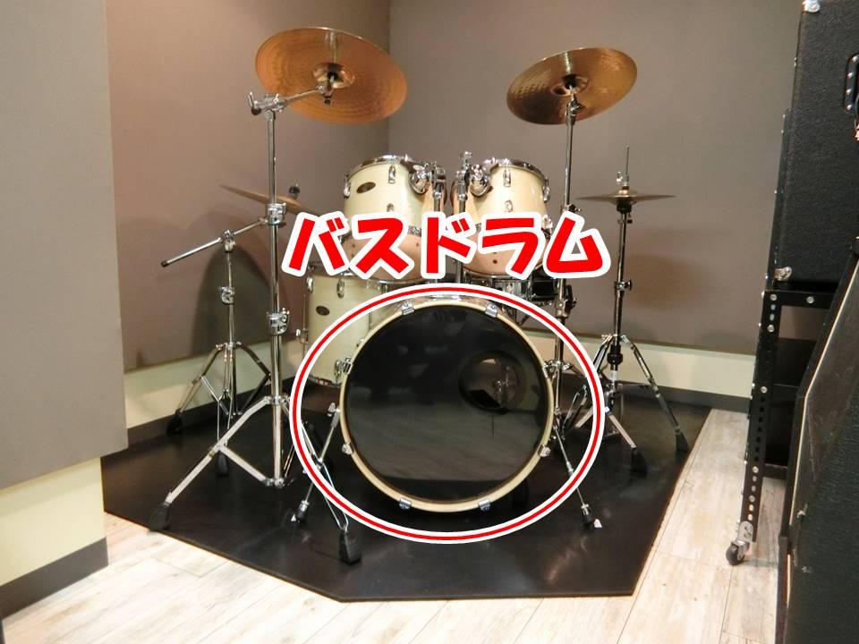 バスドラム