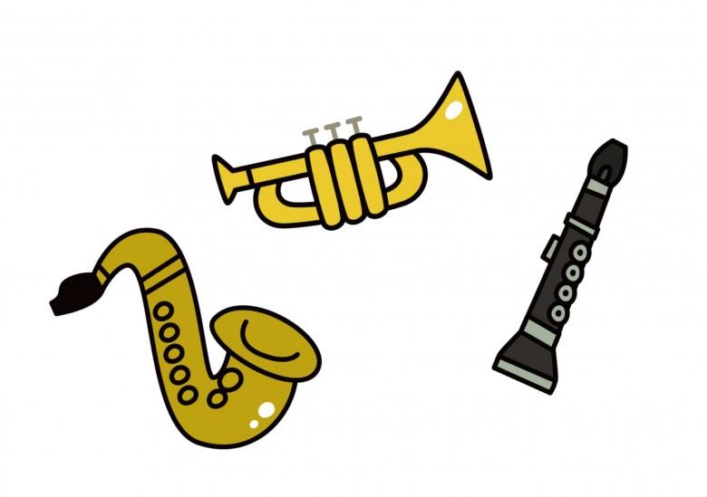 移調楽器のイメージ
