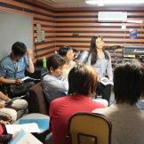 家庭での録音を想定したセルフレコーディング特別講習会-勉強中