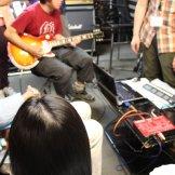 家庭での録音を想定したセルフレコーディング特別講習会-ギター録音