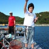 BMSサマーキャンプ2015-魚が釣れた