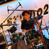 BMSサマーライブ2014 バンド系学科-ドラムセッティング