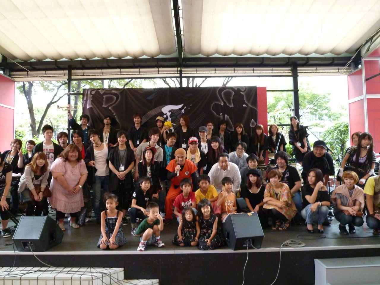 BMSサマーライブ2011-集合写真