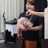 BMSサマーライブ2013 初日 ピアノ・クラッシック部門-花束