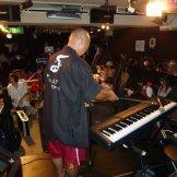 BMSサマーライブ2013 二日目 バンド系学科&DJダンスパーティー-キーボード準備