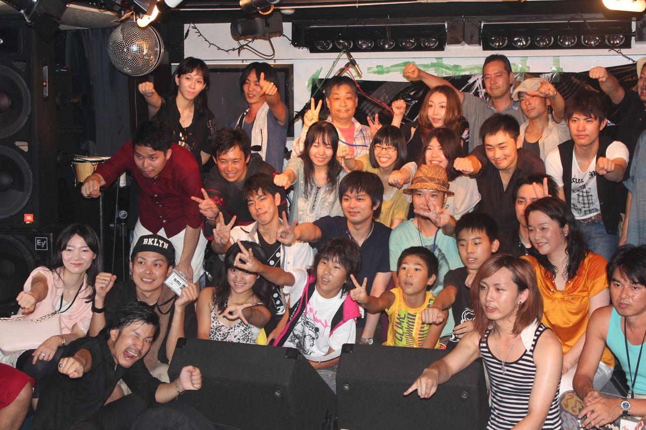 BMSサマーライブ2013 二日目 バンド系学科&DJダンスパーティー-集合写真