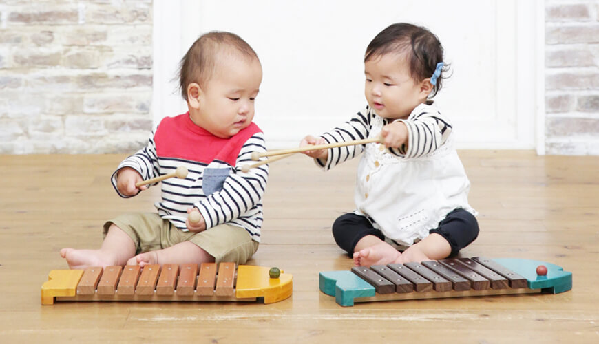 木琴レッスンの画像