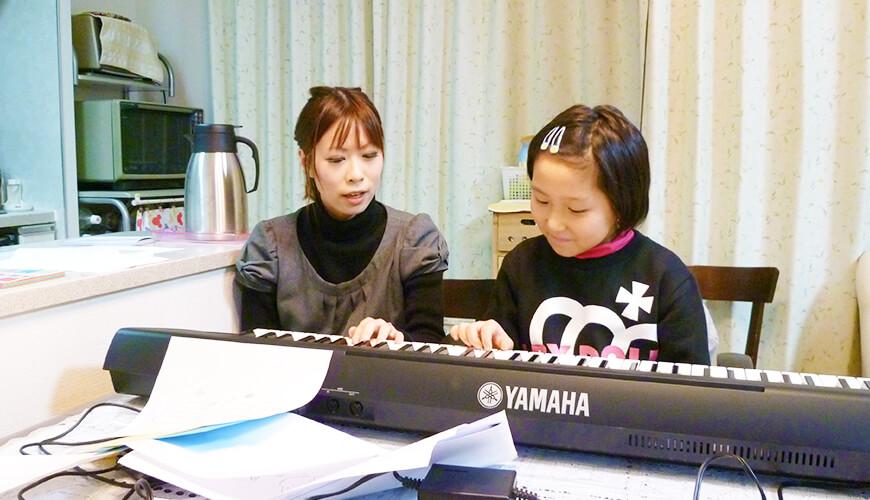 ピアノ教室レッスンの画像