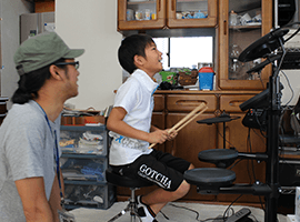 ドラム教室の画像