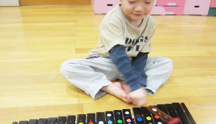 音楽療法の画像