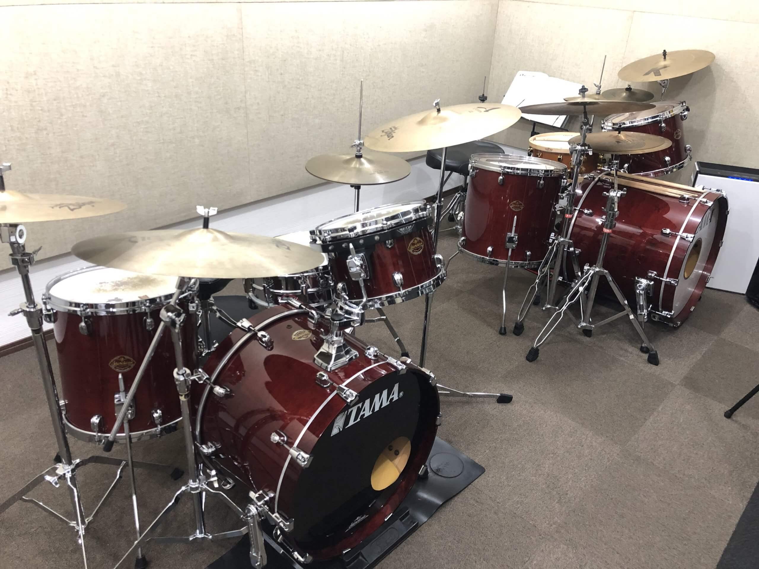 木津川ドラム教室スタジオ写真4