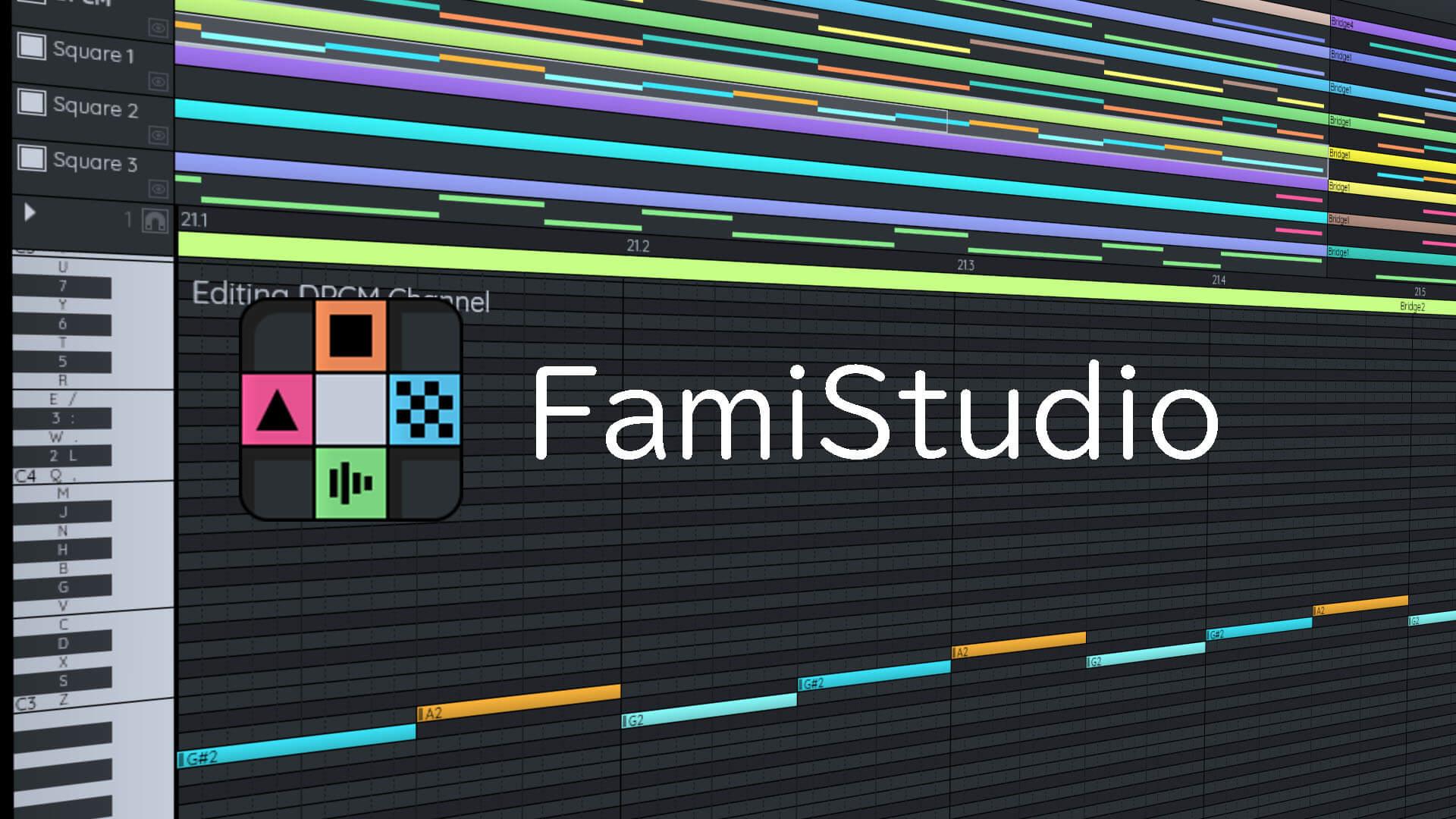 フリーソフト「FamiStudio」